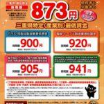 三重県最低賃金 産業別のサムネイル