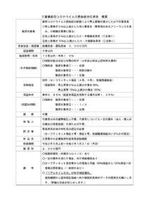 三重県新型コロナウイルス感染症対応資金 概要のサムネイル